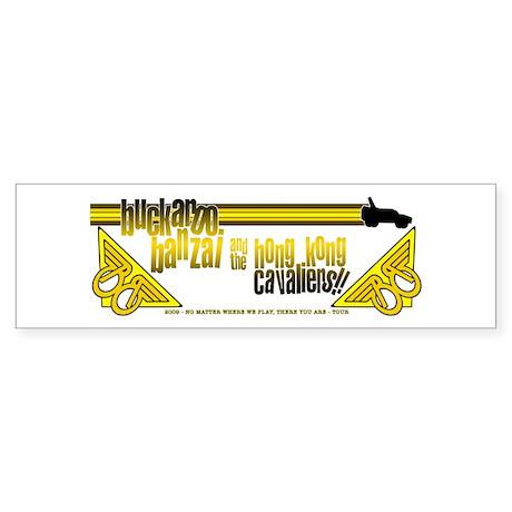 2009 Buckaroo Banzai Tour Sticker (Bumper)