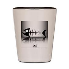 Sleeping Fish Shot Glass