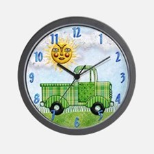 Harvest Moons Classic Truck Wall Clock
