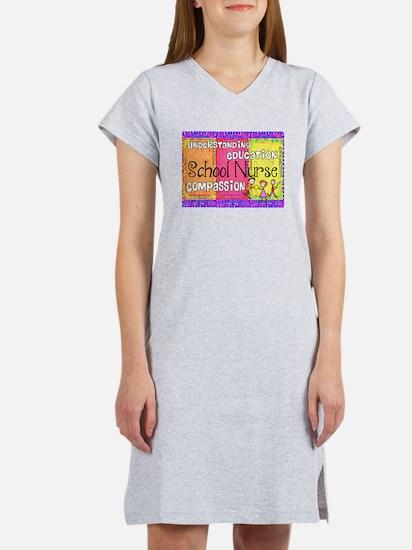 School Nurse giger.PNG Women's Nightshirt