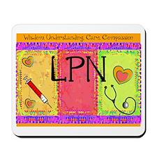 LPN Giger.PNG Mousepad