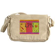 LPN Giger.PNG Messenger Bag
