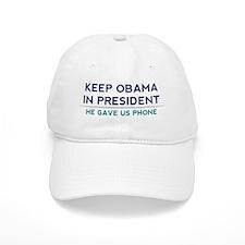 Keep Obama in President Baseball Cap