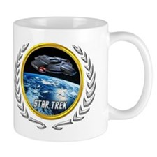 Star trek Federation of Planets defiant Mug