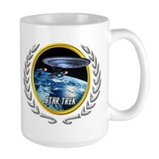 Star trek Federation of Planets Enterprise D Mug