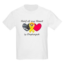 Half of my Heart Blue Camo T-Shirt