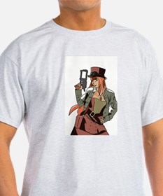 Steampunk Anime Girl T-Shirt