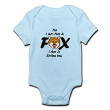 No I Am Not A Fox Infant Bodysuit