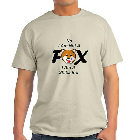 No I Am Not A Fox Light T-Shirt