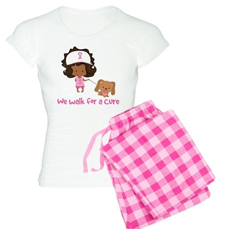 We Walk For A Cure Women's Light Pajamas
