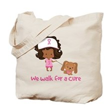We Walk For A Cure Tote Bag