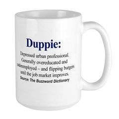 Left-handed Duppie Large Mug