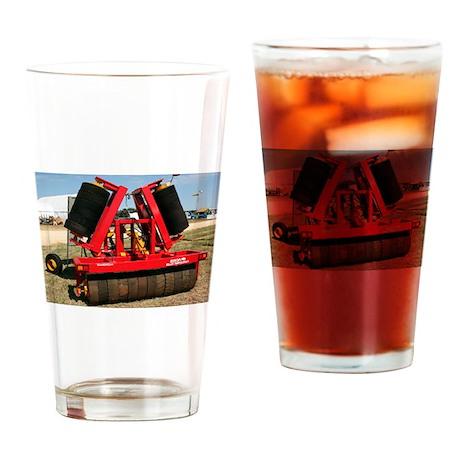 Roller: farm machinery Drinking Glass