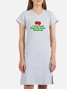 Feel Good Tomatoes Women's Nightshirt