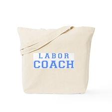Labor Coach (blue) Tote Bag