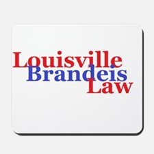 Louisville Brandeis Law Red and Blue Mousepad
