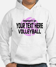 Property of Your Team Volleyball Hoodie