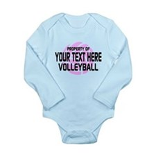 Property of Your Team Volleyball Long Sleeve Infan