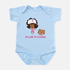 Breast Cancer Walk For Grandma Infant Bodysuit