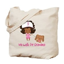 Breast Cancer Walk For Grandma Tote Bag