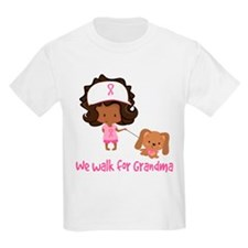 Breast Cancer Walk For Grandma T-Shirt