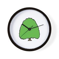 Tree3 Wall Clock