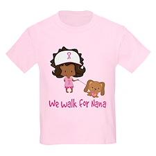 Breast Cancer Walk For Nana T-Shirt