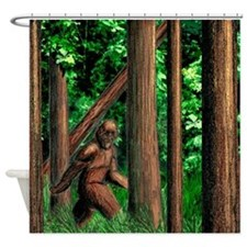Bifoot Shower Curtain