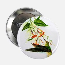 "Hummingbird 2.25"" Button"