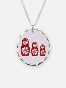 Riyah-Li Designs Nesting Dolls Three Necklace