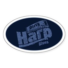 Dirty Harp Blues Bumper Stickers