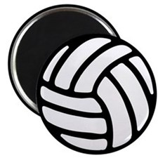 """Volleyball 2.25"""" Magnet (10 pack)"""