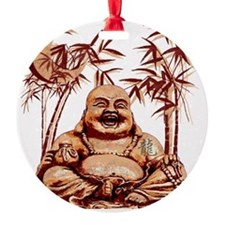 Riyah-Li Designs Happy Buddha Ornament