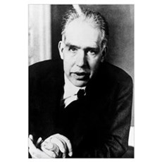 Portrait of Niels Bohr Poster