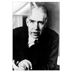 Portrait of Niels Bohr Wall Decal
