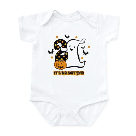 Little Ghost 2nd Birthday Infant Bodysuit