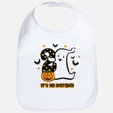 Little Ghost 2nd Birthday Bib