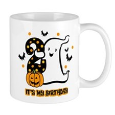 Little Ghost 2nd Birthday Mug
