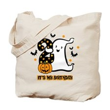 Little Ghost 2nd Birthday Tote Bag