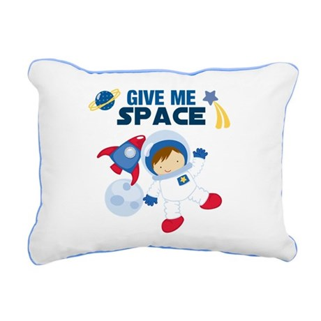 Give Me Space Rectangular Canvas Pillow
