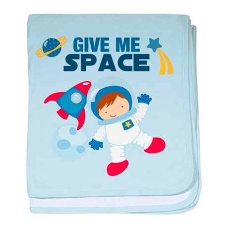Give Me Space Baby Blanket