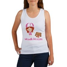 We Walk For A Cure Women's Tank Top