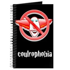 Coulrophobia No Clowns Writing Journal