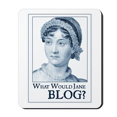Jane Austen BLOG Mousepad