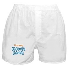 Honorary Oooompa Loompa Boxer Shorts