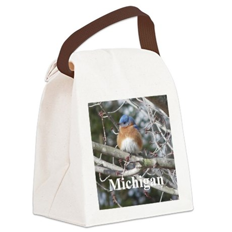 Bluebird Canvas Lunch Bag
