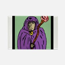 wizard_mage_goldndungeons Rectangle Magnet