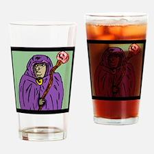 wizard_mage_goldndungeons Drinking Glass