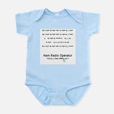 CW Microphone Infant Bodysuit