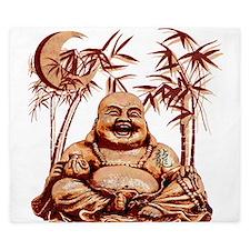 Riyah-Li Designs Happy Buddha King Duvet